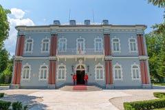 Palacio del azul de Cetinje Fotos de archivo