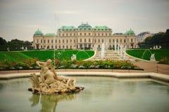Palacio del belvedere fotos de archivo libres de regalías