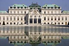 Palacio del belvedere Fotografía de archivo libre de regalías