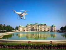 Palacio del belvedere en Viena austria Fotografía de archivo libre de regalías