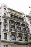 Palacio del Brasil en la calle central de Montevideo Fotos de archivo