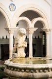 Palacio del Condes de Castro Guimaraes en Cascais Foto de archivo libre de regalías
