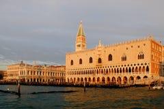 Palacio del dux de Venecia Imágenes de archivo libres de regalías