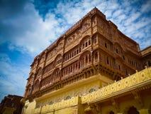 Palacio del fuerte de Mehrangarh Imágenes de archivo libres de regalías