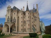 palacio del gaudi Foto de archivo