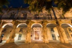 Palacio del general de capitanes - La Habana, Cuba Imagenes de archivo
