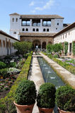 Palacio del Generalife Stock Photography