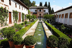 Palacio del Generalife Royalty Free Stock Images