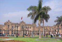 Palacio del gobierno Imágenes de archivo libres de regalías