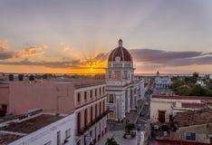 Palacio del Gobierno, Cienfuegos Cuba foto de archivo