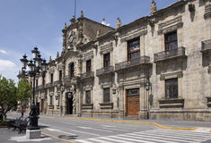 Palacio del gobierno de Guadalajara Imagen de archivo libre de regalías