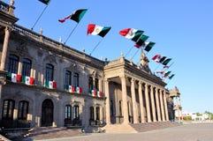 Palacio del gobierno de Monterrey Fotos de archivo libres de regalías