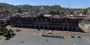 Palacio del gobierno de Toluca foto de archivo