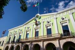 Palacio del gobierno, Mérida, México Foto de archivo