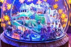 Palacio del hielo del túnel Imagen de archivo