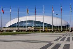 Palacio del hielo grande Fotografía de archivo libre de regalías