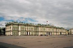 Palacio del invierno. Fotografía de archivo