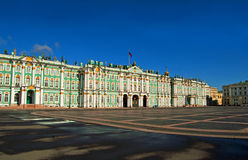 Palacio del invierno en St Petersburg Fotos de archivo libres de regalías