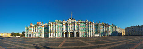 Palacio del invierno en St Petersburg Imagen de archivo libre de regalías