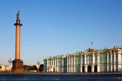 Palacio del invierno en St Petersburg. Rusia Fotos de archivo