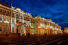 Palacio del invierno, St Petersburg Foto de archivo libre de regalías