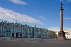 Palacio del invierno. St Petersburg. fotos de archivo