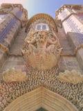 Palacio del jardín del ` s de Sintra en Portugal Imágenes de archivo libres de regalías