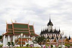 Palacio del metal de Loha Prasat Imagenes de archivo