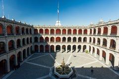 Palacio del nacional de Ciudad de México Foto de archivo
