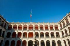 Palacio del nacional de Ciudad de México Imagenes de archivo