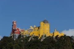 Palacio del nacional de Pena Foto de archivo libre de regalías