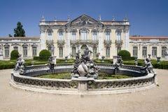 Palacio del nacional de Queluz Imágenes de archivo libres de regalías