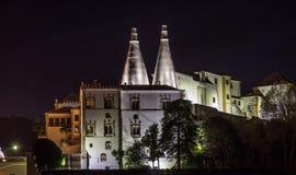 Palacio del nacional de Sintra Fotos de archivo libres de regalías