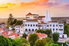 Palacio del nacional de Sintra Imágenes de archivo libres de regalías
