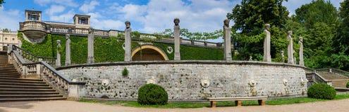 Palacio del naranjal en el parque de Sanssouci Imágenes de archivo libres de regalías