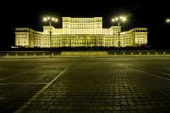Palacio del parlamento Imagen de archivo