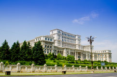 Palacio del parlamento Fotografía de archivo