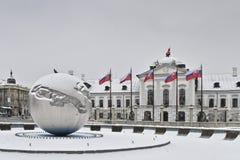 Palacio del presidente Imagen de archivo libre de regalías