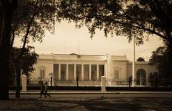 Palacio del presidente Imágenes de archivo libres de regalías