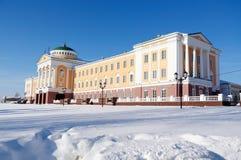 Palacio del presidente de la República de Udmurtia Fotografía de archivo