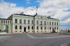 Palacio del presidente en la ciudad de Kazan Imagen de archivo