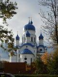 Palacio del priorato en la región de Gatchina Leningrad fotografía de archivo