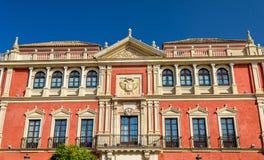 Palacio del Real Audiencia de los Grados en Sevilla, España Foto de archivo