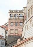 Palacio del renacimiento en el castillo de Praga Fotos de archivo