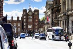 Palacio del ` s de San Jaime, Londres Imagen de archivo