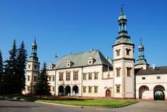 Palacio del `s del obispo en Kielce Foto de archivo