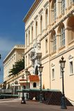 Palacio del ` s del príncipe de Mónaco Foto de archivo libre de regalías
