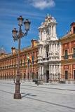 Palacio del santo Telmo, Sevilla, España foto de archivo libre de regalías