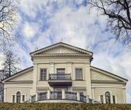 Palacio del señorío de Tuskulenai Fotografía de archivo