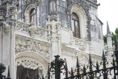Palacio del stote de Quinta da Regaleira en Sintra, Portugal Fotografía de archivo libre de regalías